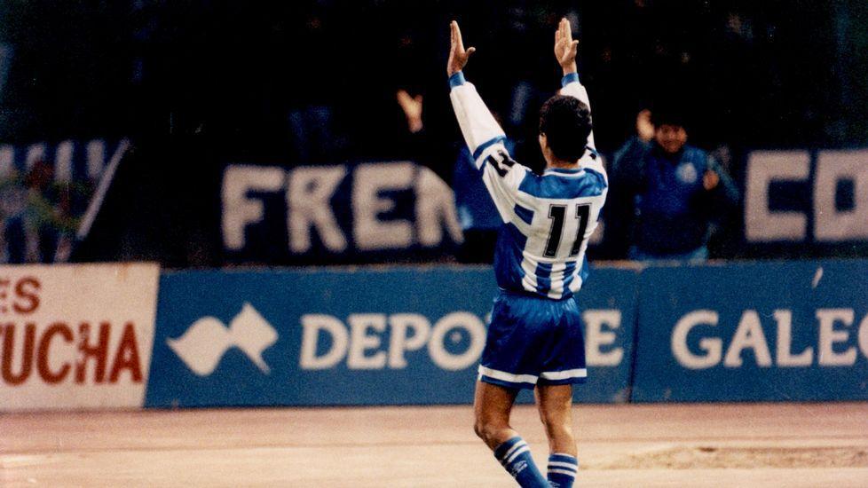 Bebeto y su récord imposible de superar en la Liga española