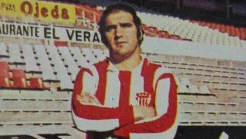 Tati Valdés, uno de los futbolistas más queridos de la historia del Sporting