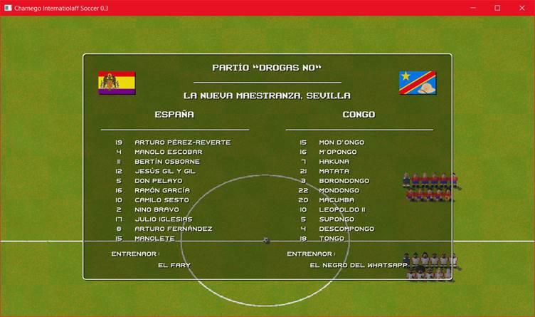 Charnego Internatiolaff Soccer, el videojuego de fútbol más gilipollas