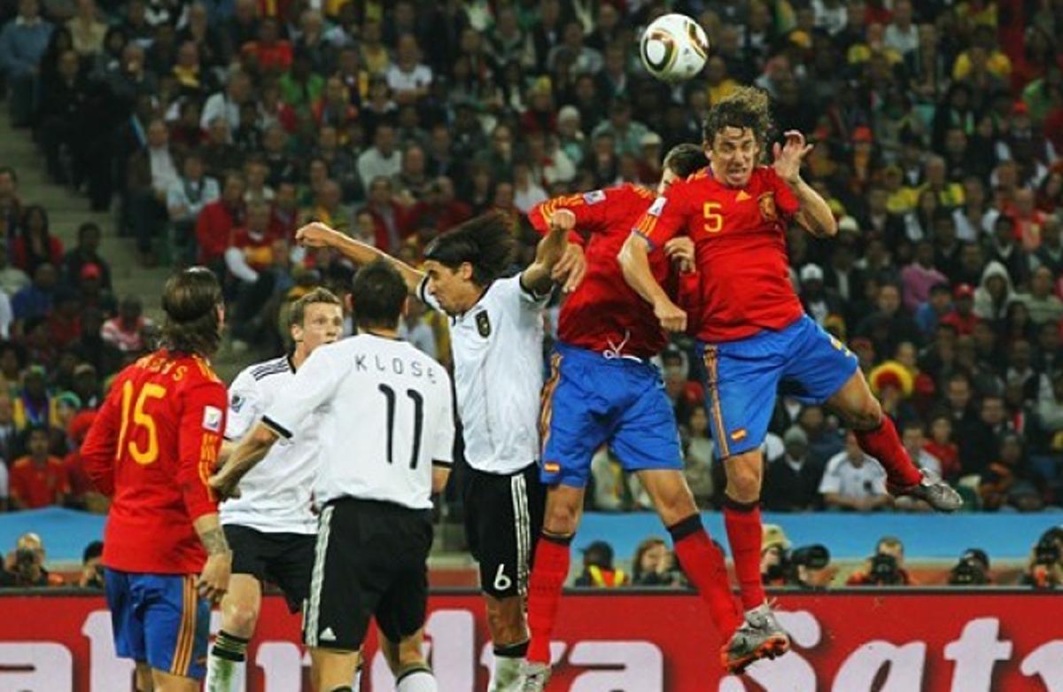 Carles Puyol Alemania