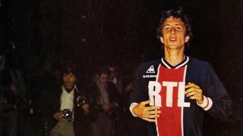 El fichaje de Johan Cruyff por el PSG