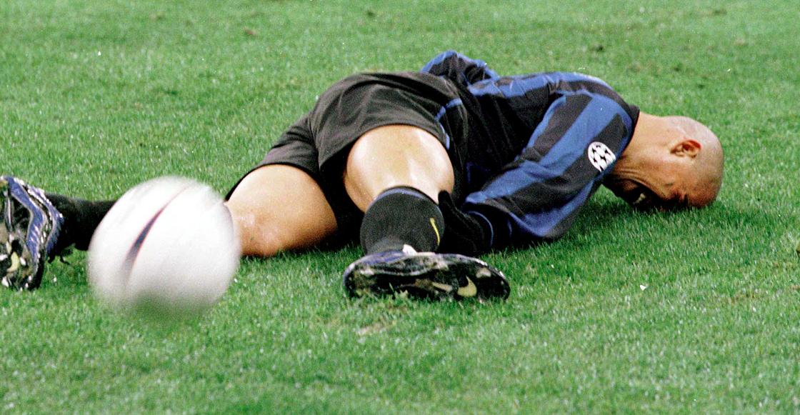 La lesión de Ronaldo no le impidió ser el mejor delantero de la historia