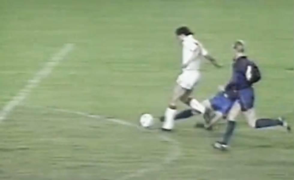 Brito Arceo y su increíble penalti en un Barcelona-Sevilla