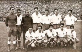 Cuando el Atlético de Madrid jugó con camiseta blanca