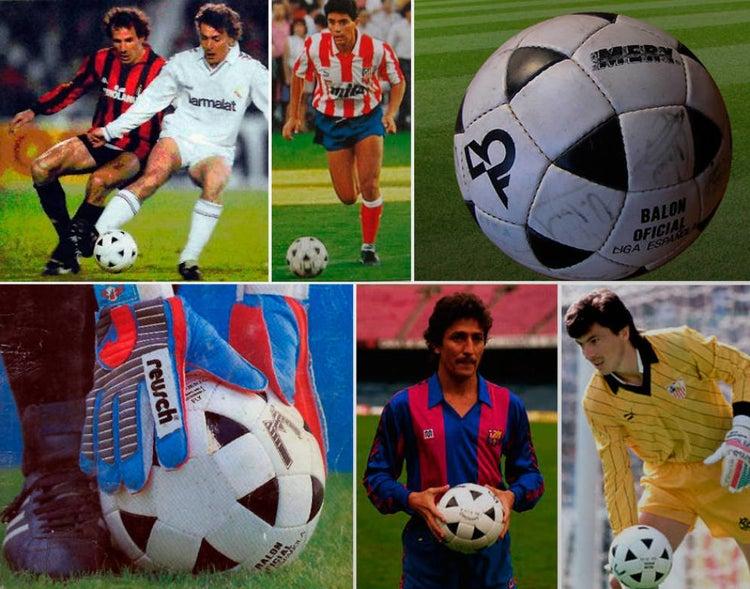 Fly, el primer balón oficial de la historia de la Liga española
