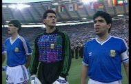La pitada al himno de Argentina en la final de Italia '90