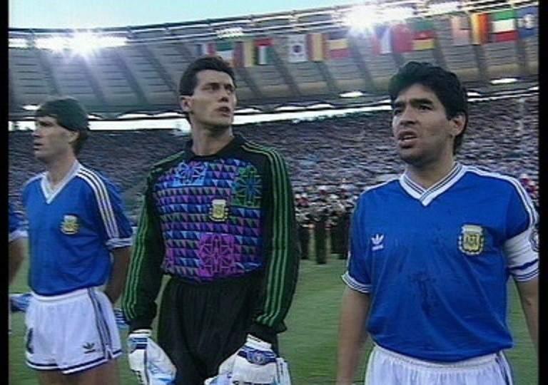 La pitada al himno de Argentina en la final del Mundial de Italia 90