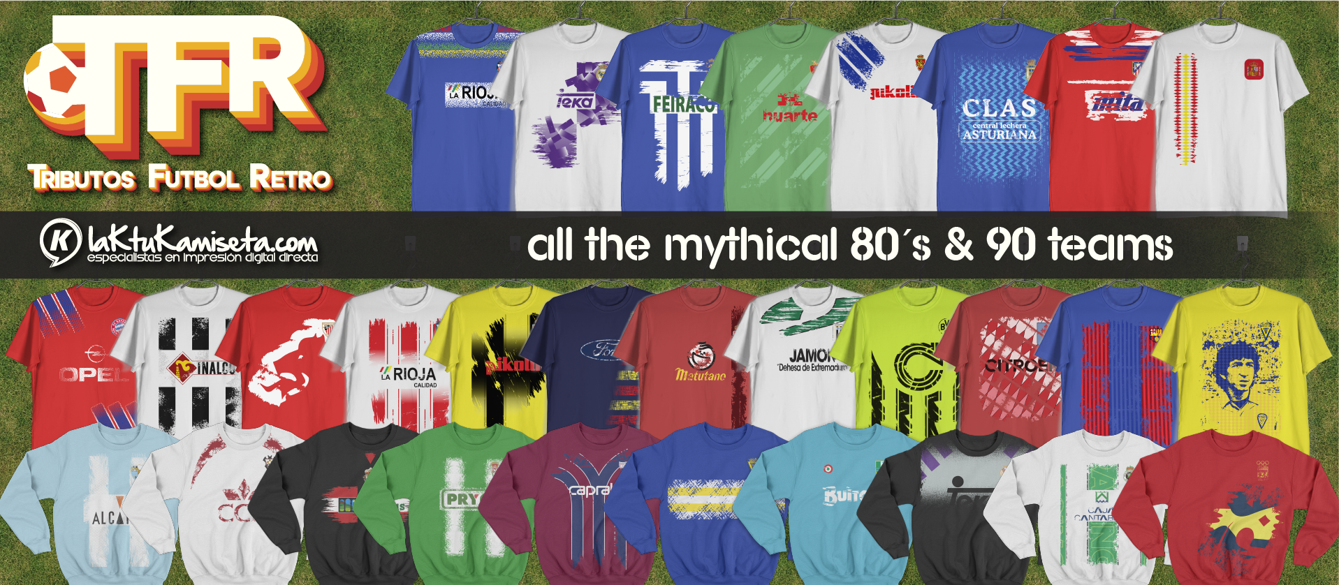 camisetas retro de futbol