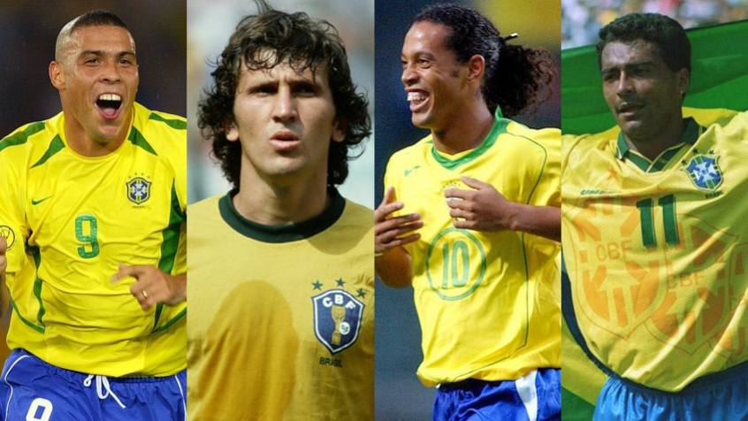 Los mejores futbolistas brasileños de la historia