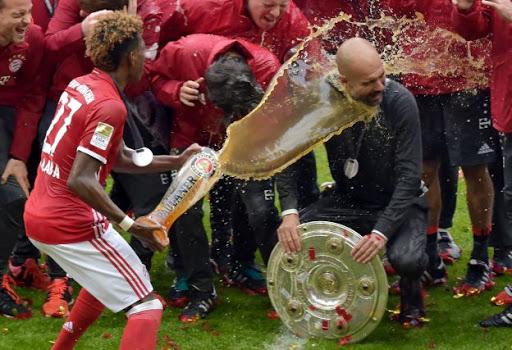 Bayern ligas consecutivas
