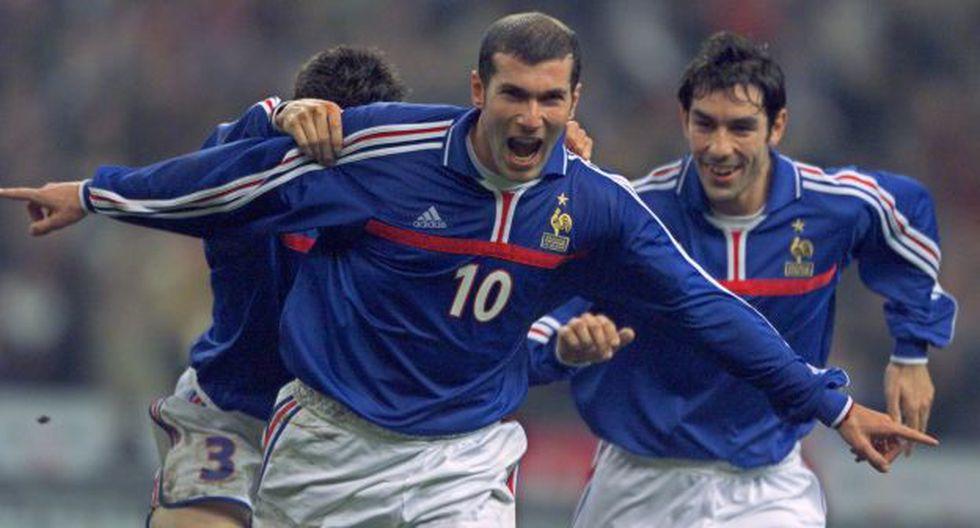 Zinedine Zidane Francia