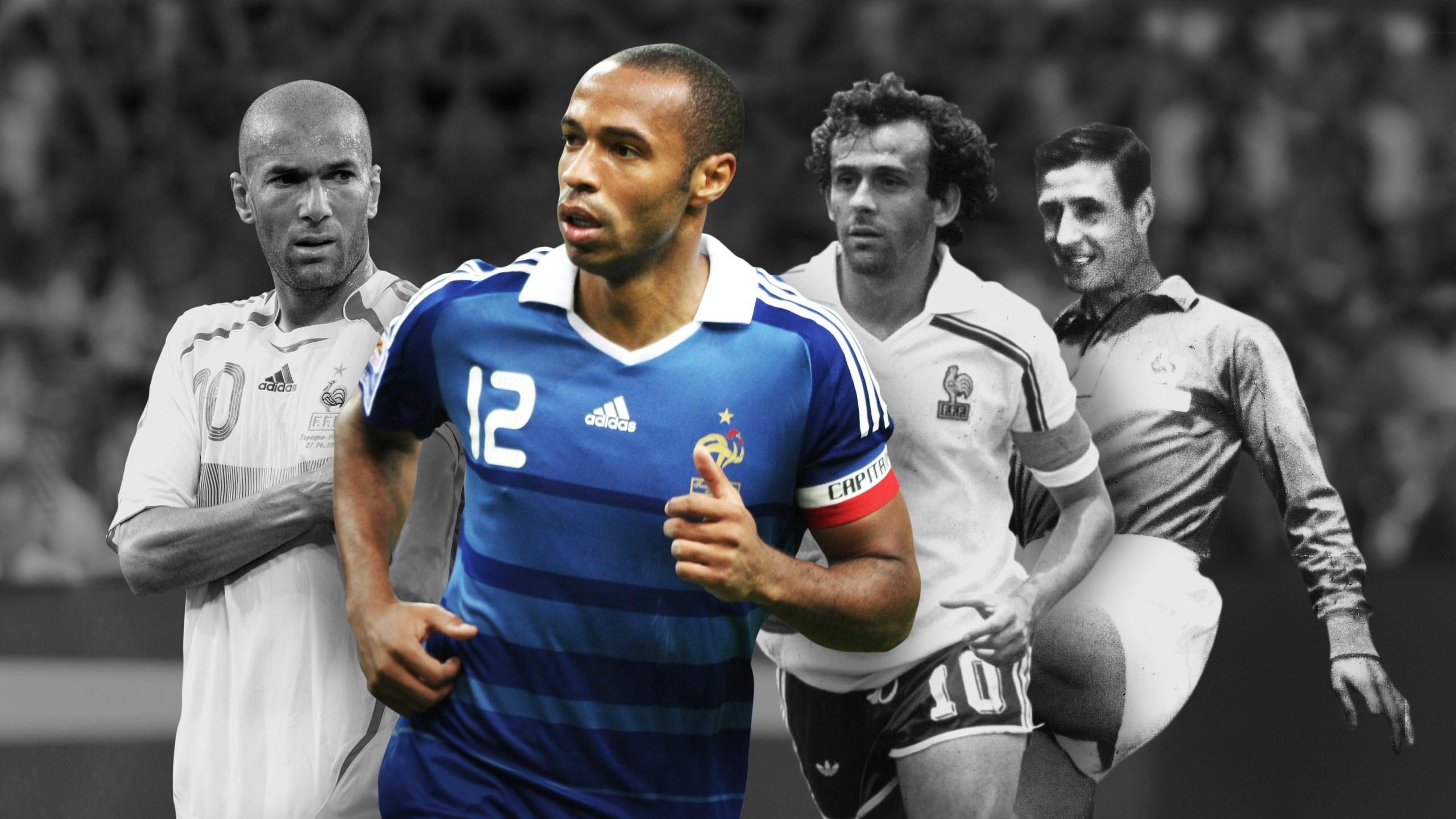Los mejores futbolistas franceses de la historia