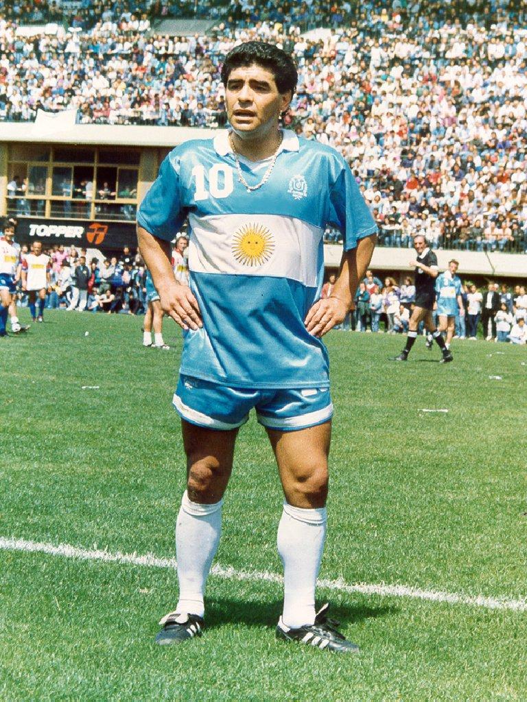 Aquella camiseta de Argentina en el Mundial de Italia '90