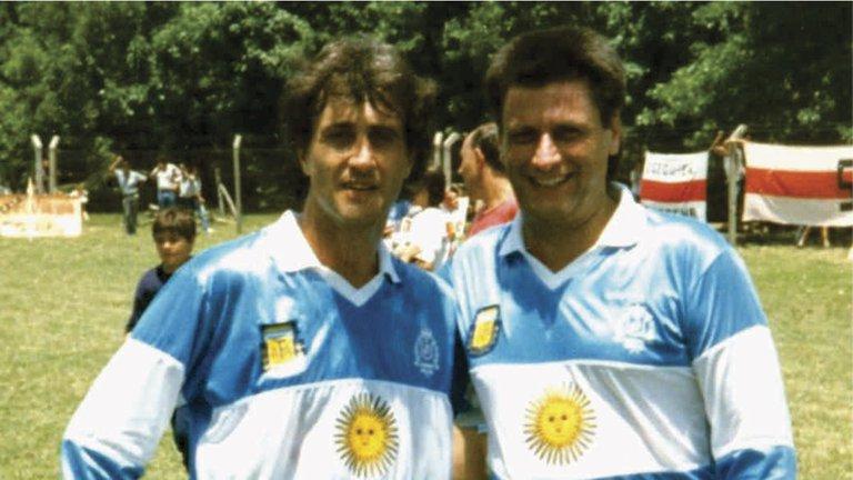 camiseta Argentina 1990