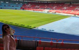 Descubriendo estadios de fútbol - Tania Martín