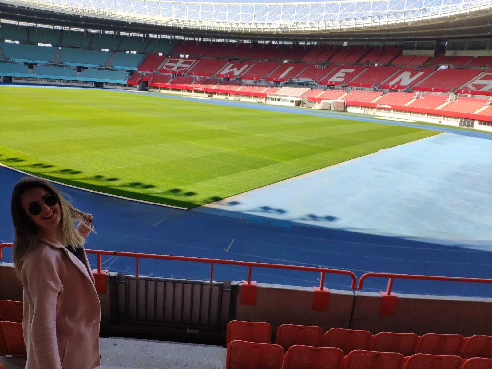 Descubriendo estadios de fútbol – Tania Martín