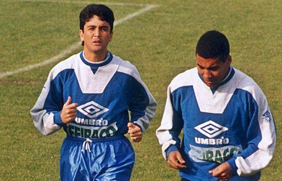 Bebeto y Mauro Silva