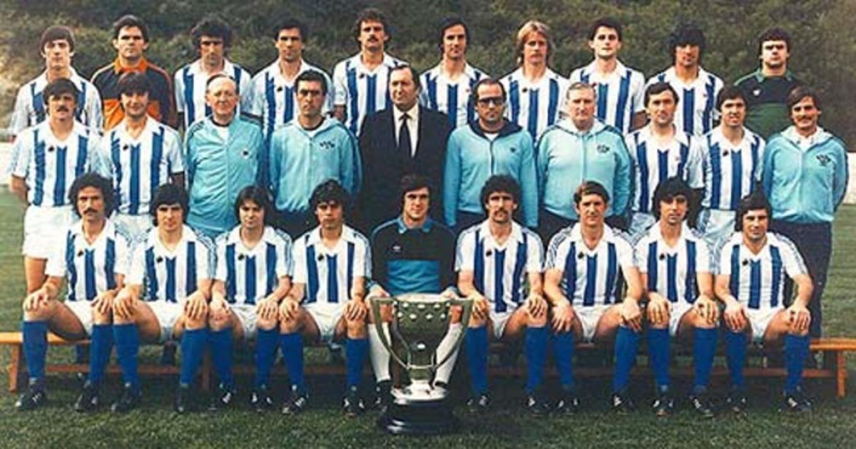 Real Sociedad campeón de Liga