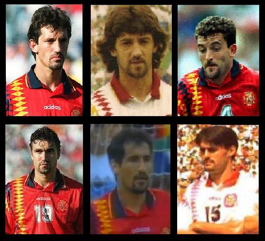 La perilla de los jugadores de España en el Mundial de Estados Unidos