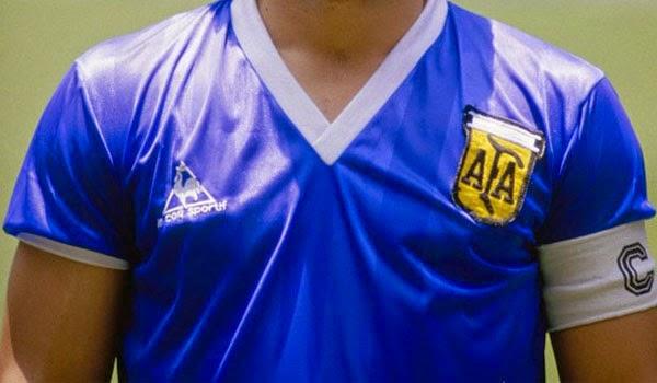 La curiosa historia de las camisetas de Argentina en el Mundial de 1986