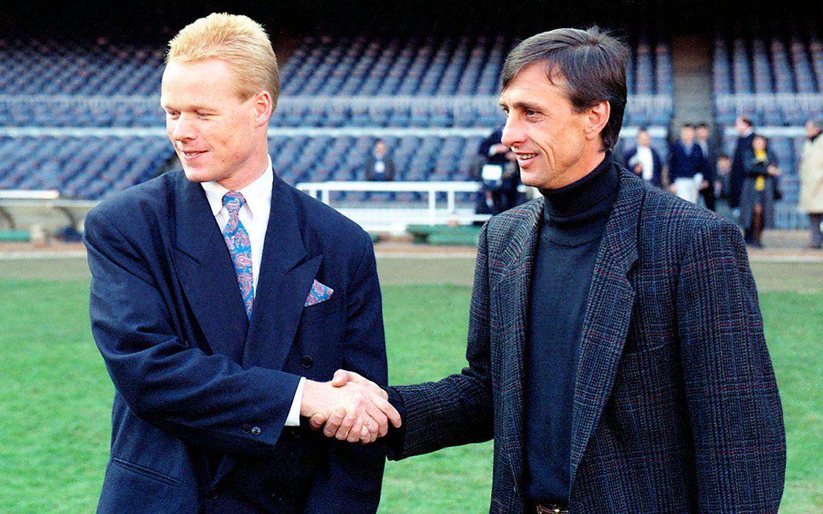 Las similitudes entre el inicio del 'Dream Team' de Cruyff y el equipo de Koeman