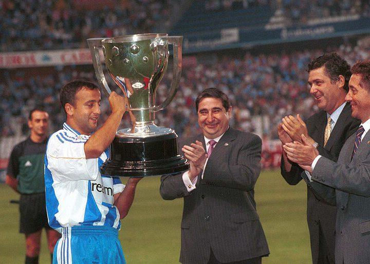 Los 6 títulos del RC Deportivo y los 3 futbolistas que estuvieron presentes en todos ellos