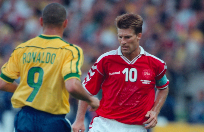 Michael Laudrup y Ronaldo