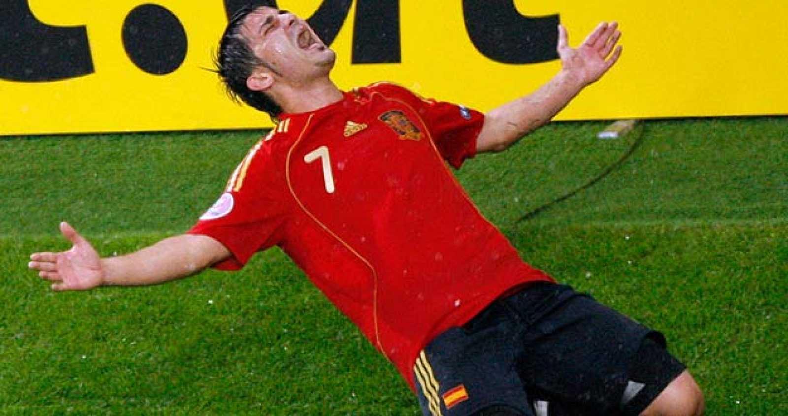 Los máximos goleadores de la Eurocopa