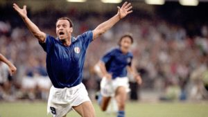 Toto Schillaci goleador en Italia 90